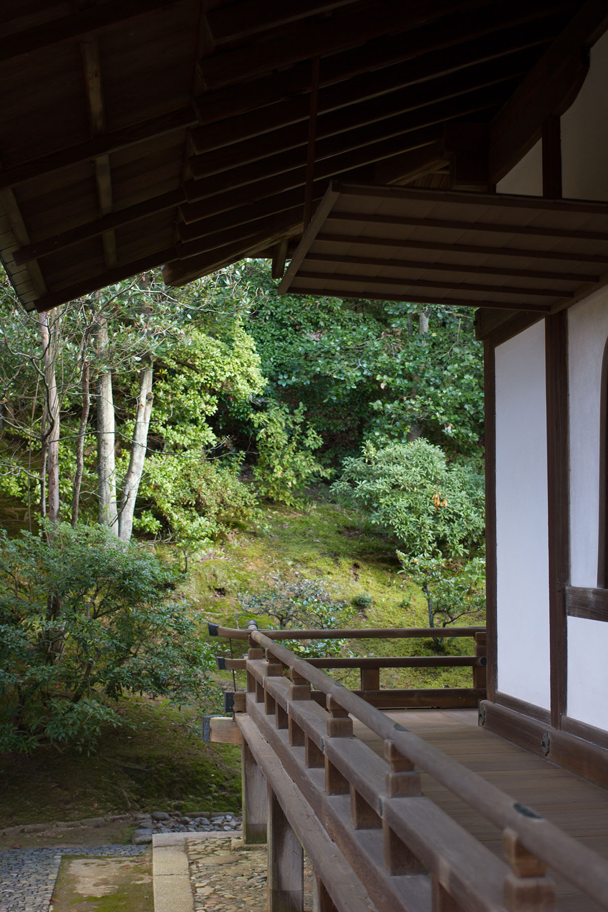 Window in tea pavilion at Katsura Imperial Villa - Kyoto